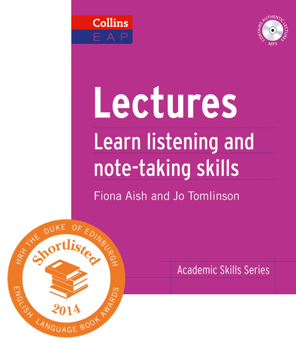Lectures with ESU Shortlist logo